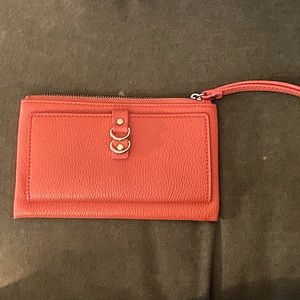 🌈3/$20 Mini Clutch Wallet in Coral
